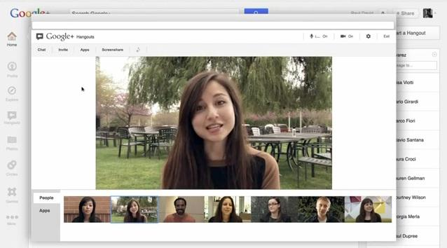 Image result for google hangouts video chat