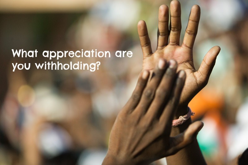 Withholding appreciation