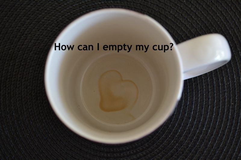 Empty my cup