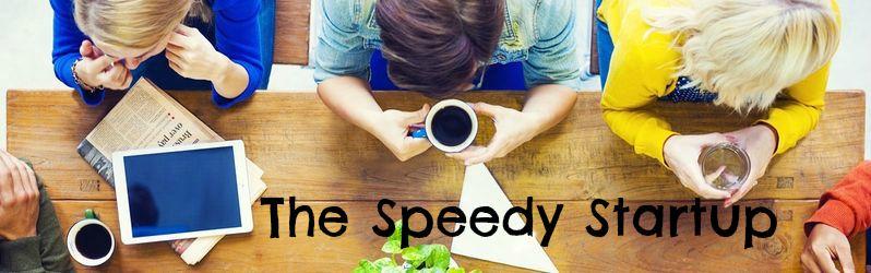 Speedy startup logo