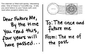 Letters to future me